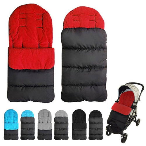 Winter Baby Toddler Universal Stroller sleeping bags windproof warm thick cotton pad - The Asian Centre