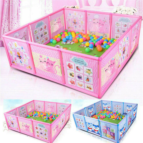 Baby Playpen Fence Plastic Baby Safety Fence Pool - The Asian Centre