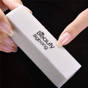 BeautyBigBang Sanding Sponge Nail File Buffer Block UV Gel Nail Polish - The Asian Centre
