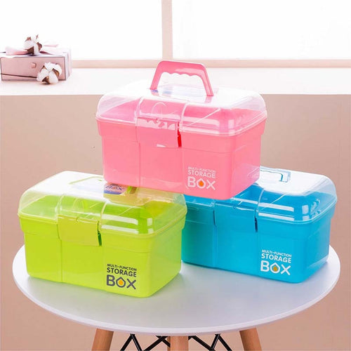 Baby Healthcare Kit Medical Care Set Portable Medicine Family Box - The Asian Centre