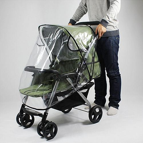 Stroller Rain Cover Universal Waterproof Wind Dust Shield - The Asian Centre