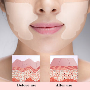 Facial Lip Wrinkle Remover Pad Reusable Medical Grade Silicone Anti-aging Mask Prevent Face Wrinkle - The Asian Centre