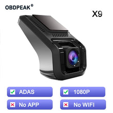 Load image into Gallery viewer, X9 Pro Dash Cam Wifi Car DVR Camera - The Asian Centre