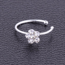 Load image into Gallery viewer, 1Pc Fashion Stainless Steel Crystal Rhinestone Nose Ring - The Asian Centre