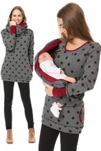 Load image into Gallery viewer, Maternity Nursing Hoodie Winter Pregnancy Clothes - The Asian Centre