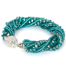 Load image into Gallery viewer, Fashion Multiple Layer Strands Crystal Seed Beads - The Asian Centre