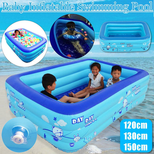 120/130/150cm Children Bathing Tub Baby Home Use Paddling Pool Swimming Pool For Kids - The Asian Centre