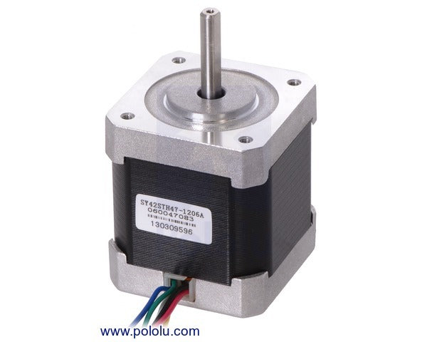 Stepper Motor: Unipolar/Bipolar, 200 Steps/Rev, 42×48mm, 4V, 1.2 A/Phase