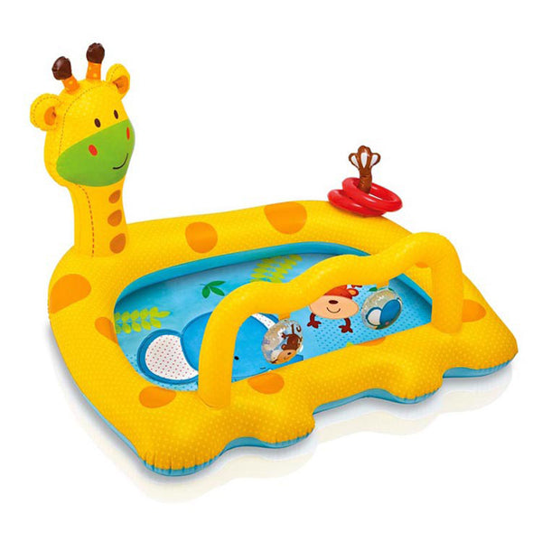 Kids: Baby Inflatable Pool Giraffe Baby Piscina Float Kids Swimming Pool Inflatables Piscina Baby Piscine Kids Inflatable Pool Toys