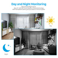 Home Camera: Home Security IP Camera Two Way Audio Wireless Mini Camera Night Vision and WiFi Camera Baby Monitor