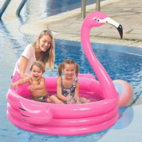 Kids: Flamingo-shaped Baby Swimming Pool Inflatable Swim Pool Baby Pools For Kids Adults Family Children Toys Piscinas Piscine