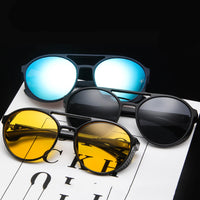 Sun Glasses: Classic Punk Designed Vintage Sun Glasses for Men