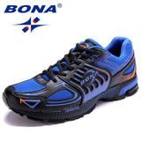 Men Shoes: BONA 2020 New Designers Popular Style Casual Shoes Men Outdoor Male Footwear Mesh Sneakers Shoes Man Leisure Shoes Trendy
