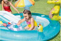 Swimming pool: Kids Inflatable Bath Tub, Crocodile Park Fountain, Baby Marine Ball Pool, And Children Portable Swimming Pool Light