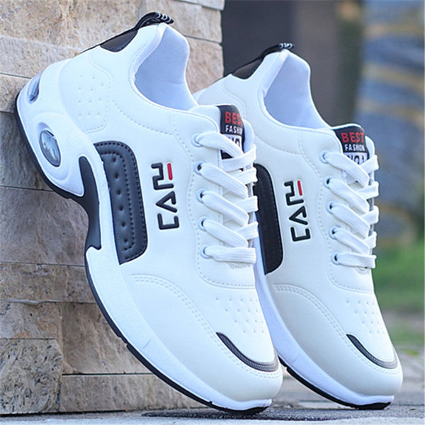 Men Shoes: 2020 New Men Shoes Air Cushion Sneakers Breathable Outdoor Walking Sport Shoes For Male Lace-up Casual Shoes Bubble Men Footwear