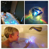 Kid: Decorative LED LIGHT KIDS DISCO BATH LIGHT SHOW COLOR PARTY IN THE TUB BATH TIME FUN TOY