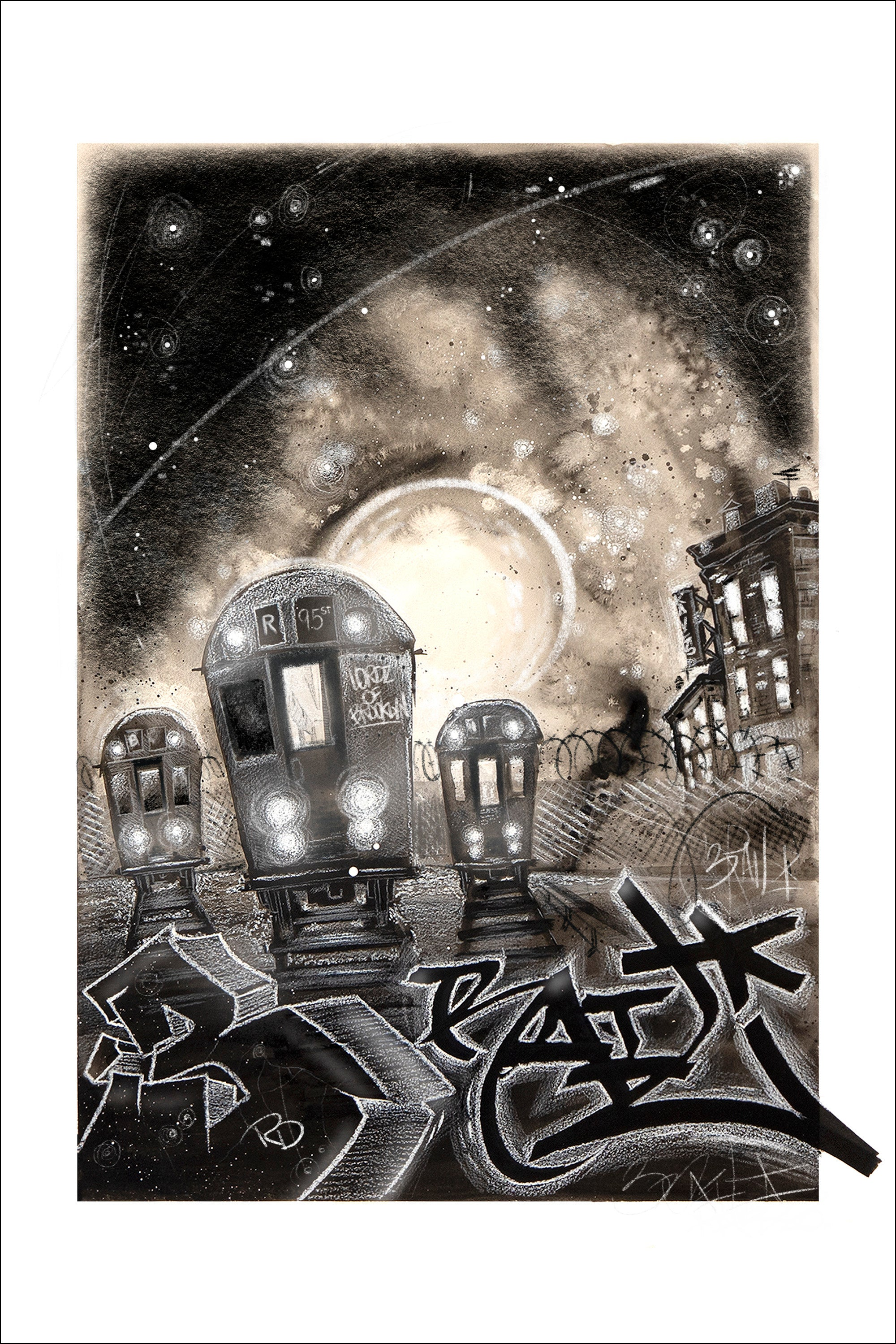THIRD RAIL SIGNED GICLEE PRINT
