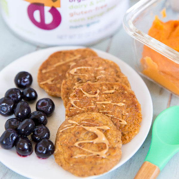 Sweet Potato Blender Pancakes