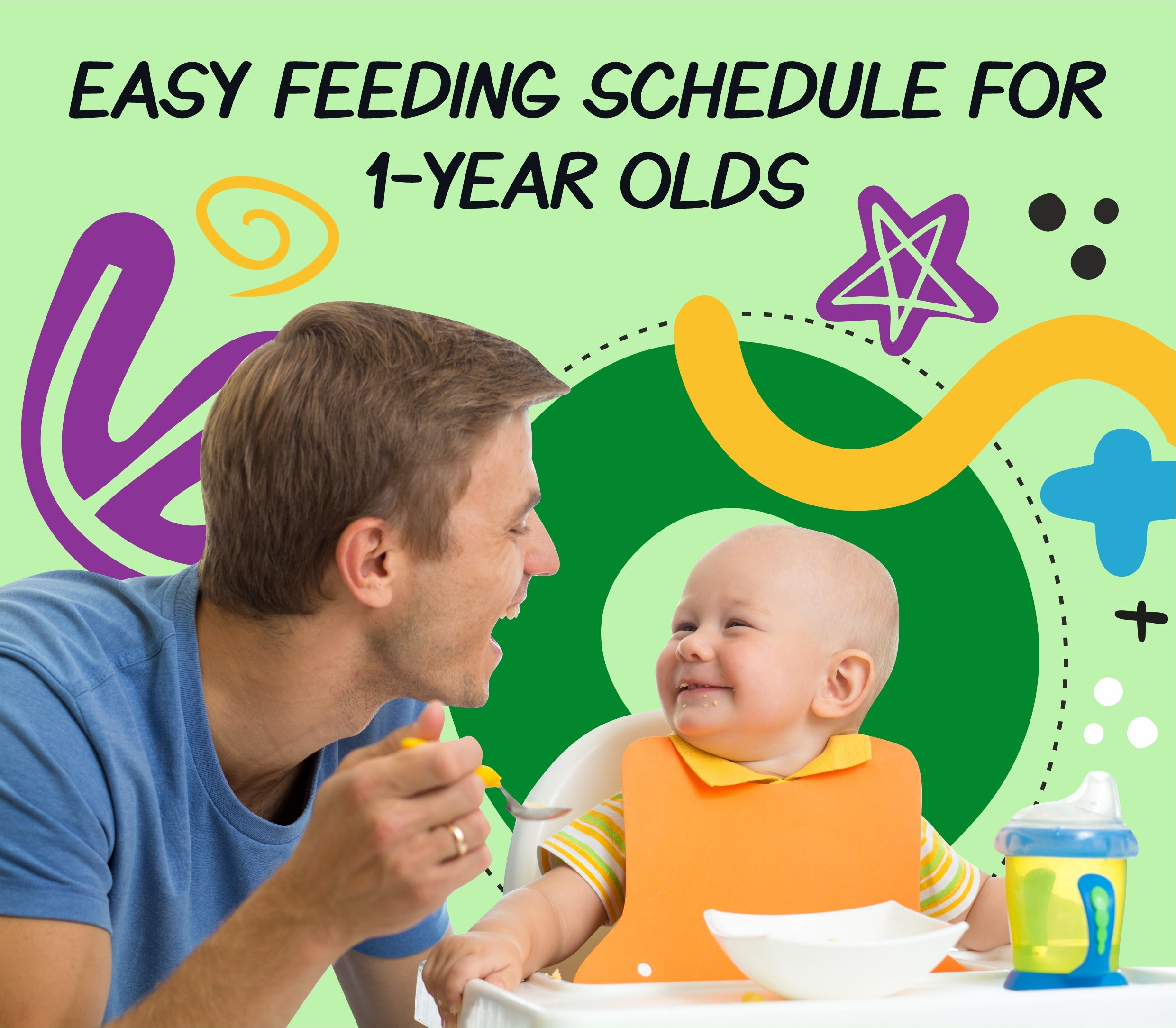What to feed a 1-year-old?