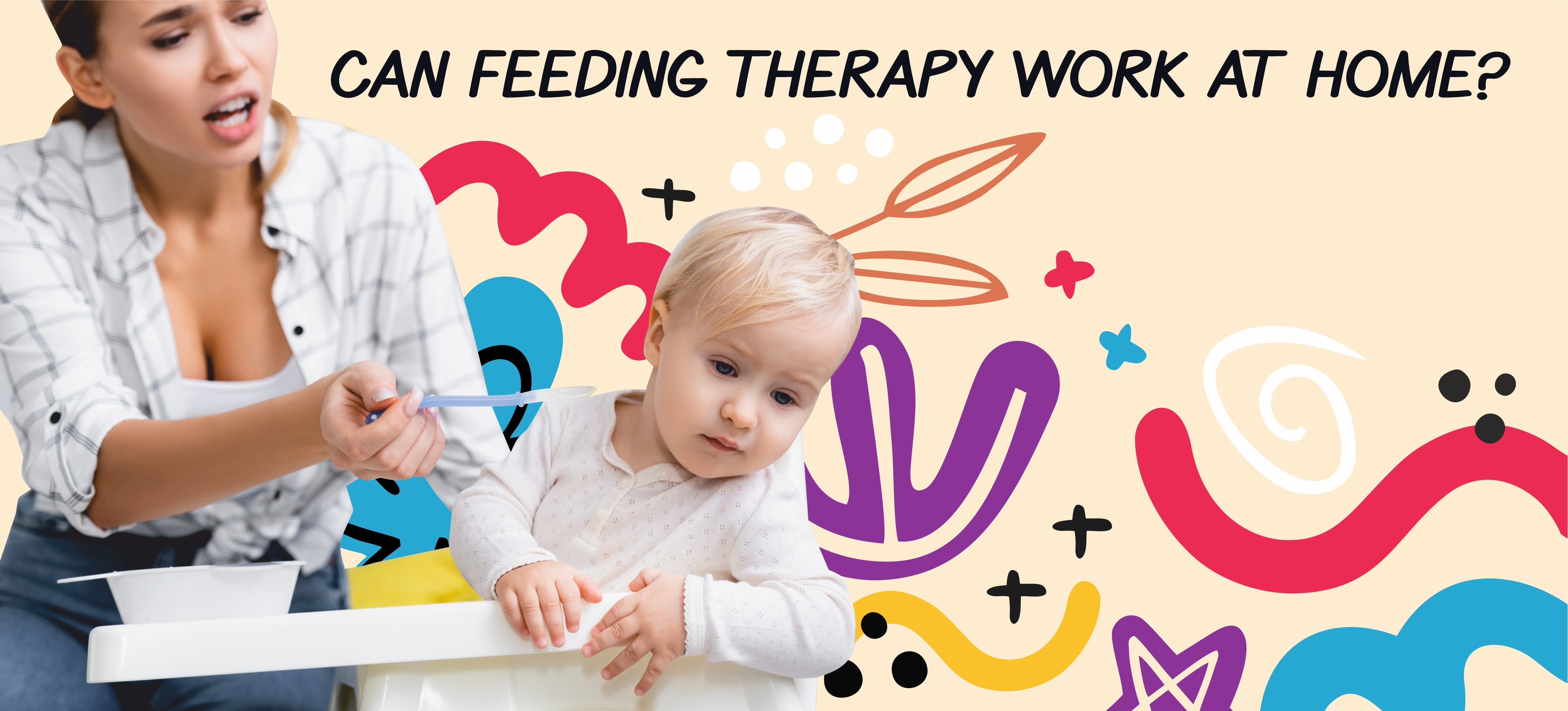 Can feeding therapy work at home?