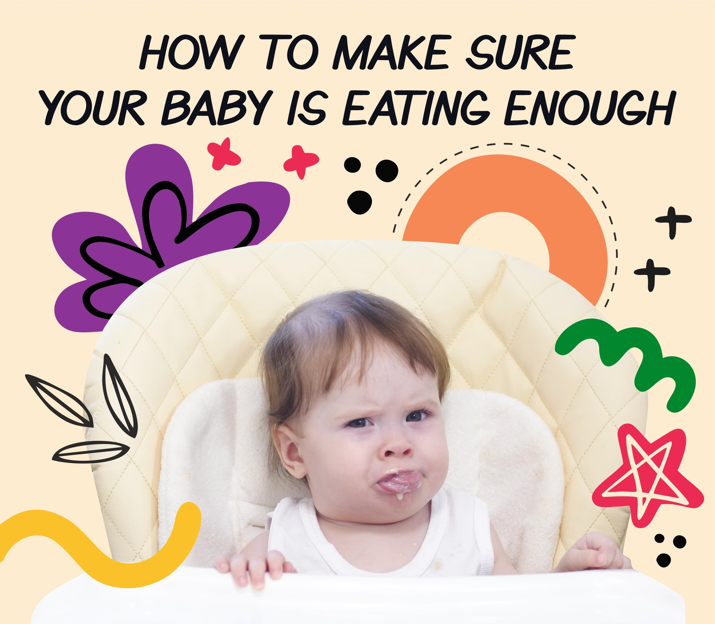 How to make sure your baby is eating enough