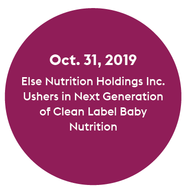 clean label baby nutrition