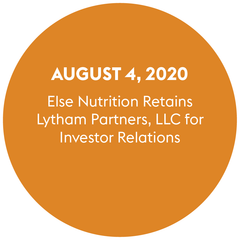 Else Nutrition Retains Lytham Partners, LLC for Investor Relations