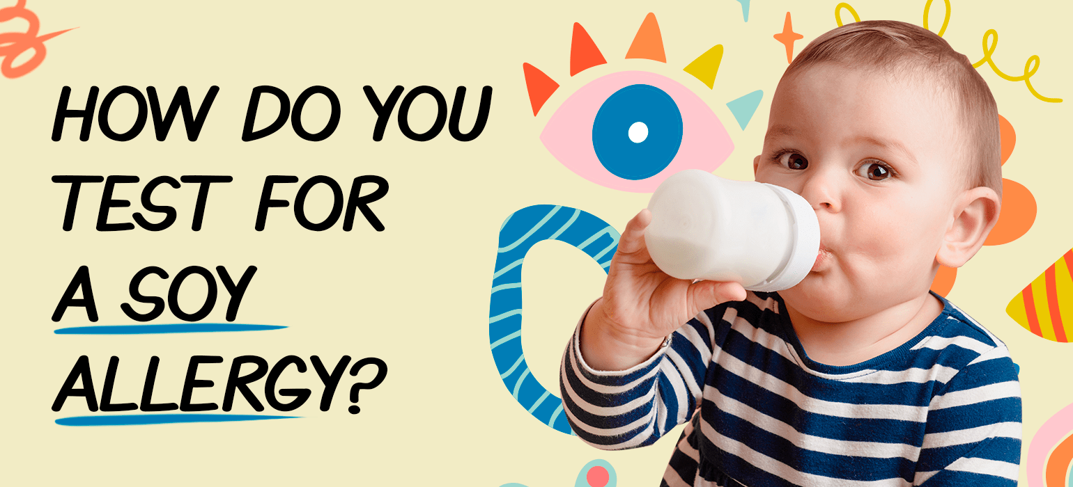 How do you test for a soy allergy