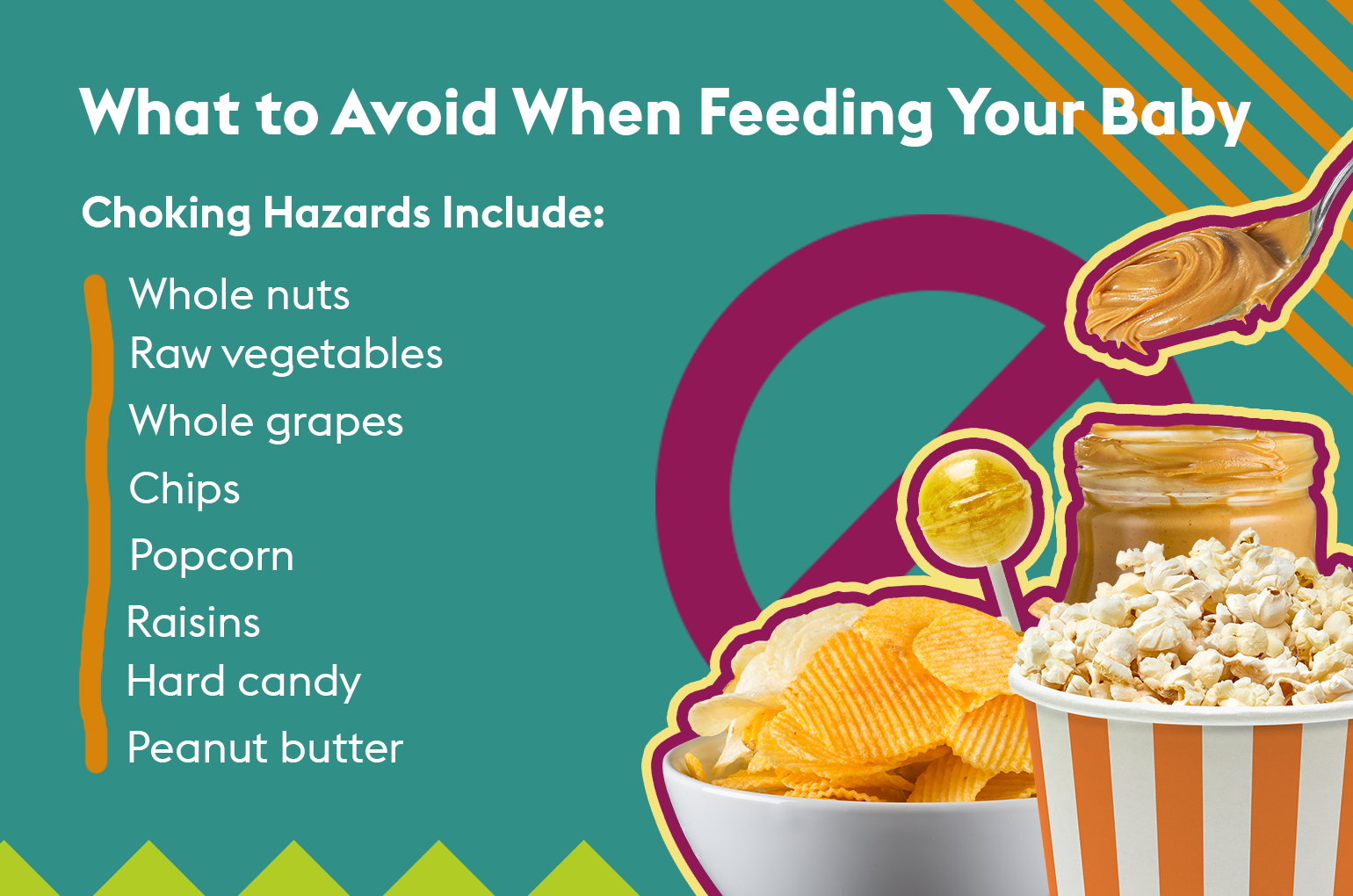 what to avoid when feeding your baby