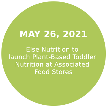 Else Nutrition to launch Plant-Based Toddler Nutrition at Associated Food Stores