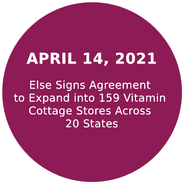 Else Signs Agreement to Expand into 159 Vitamind Cottage Stores Across 20 States