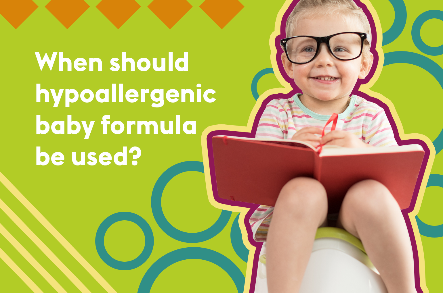 When should hypoallergenic baby formula be used?