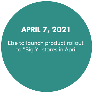 Else to Launch Product Rollout to BigY Stores in April