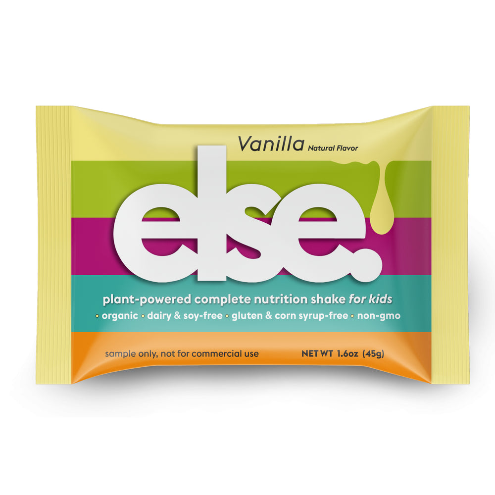Else Plant-Powered Complete Nutrition Shake for Kids, Sample Pack