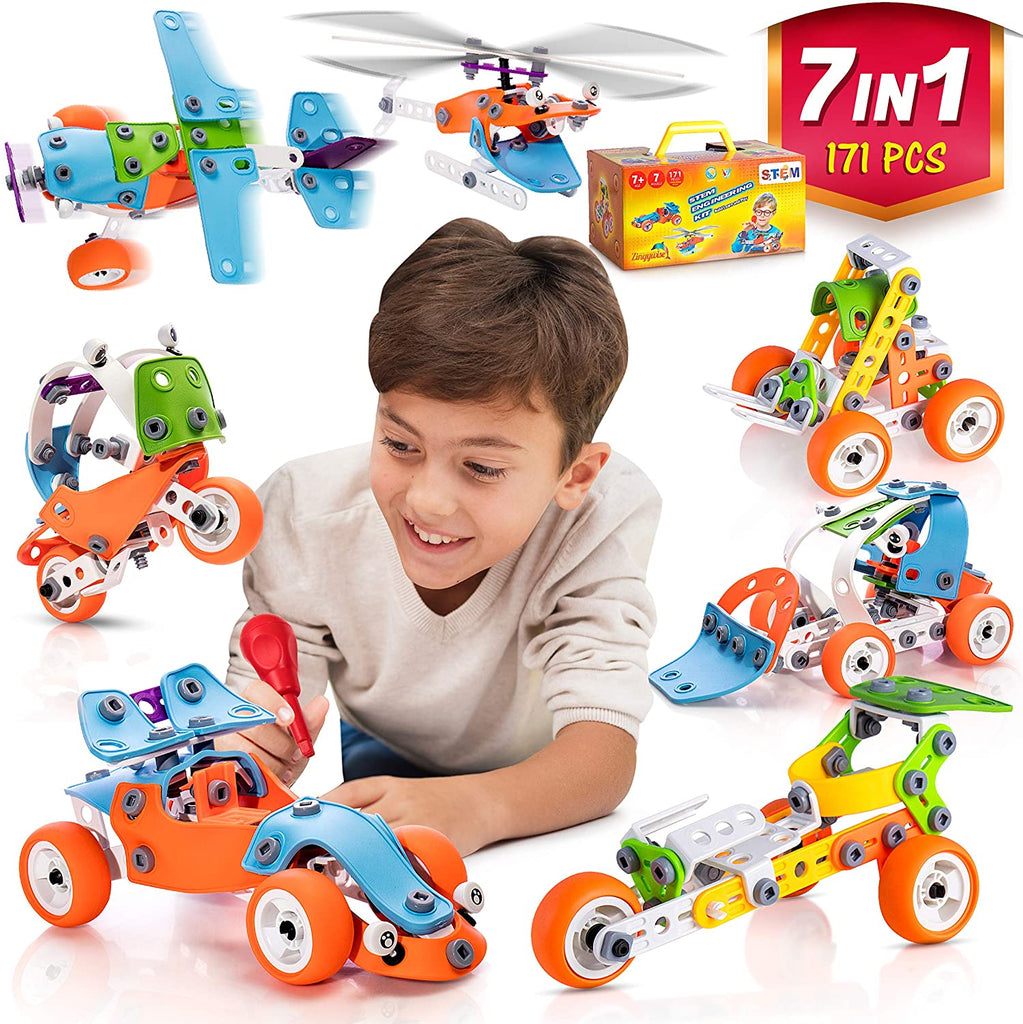 STEM Learning Toy For Boys And Girls Age 7-12 - 171 Pcs
