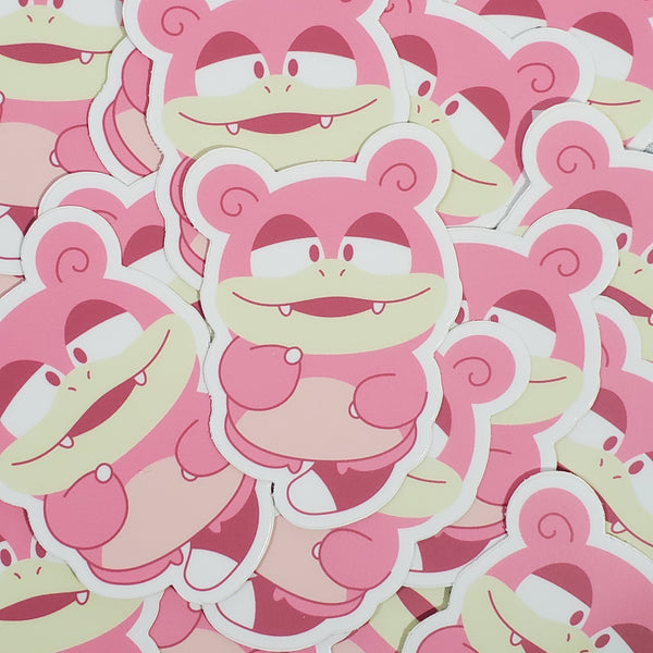 "Slowpoke 3"" Sticker"