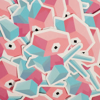 "Porygon 3"" Sticker"