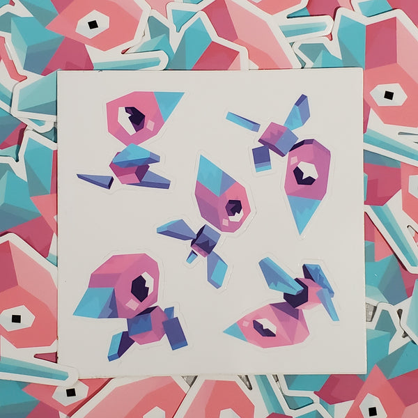 "Porygon 5"" Sticker Sheet"