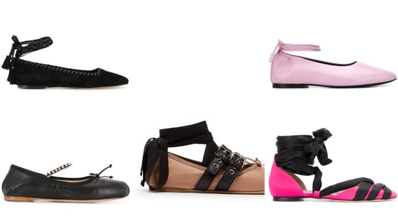 Ballet Flats as seen on SS20 runways