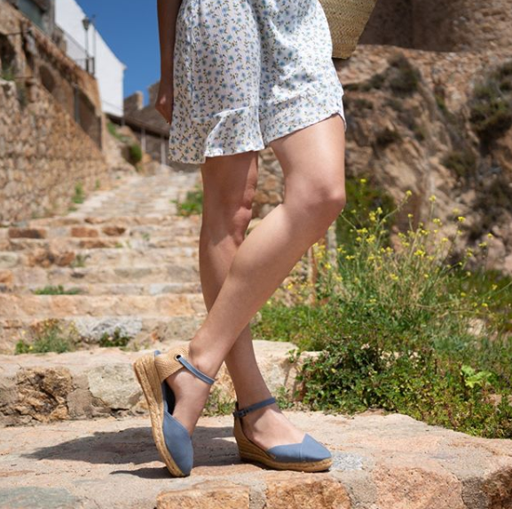 Viscata Pubol Canvas Espadrille Wedges