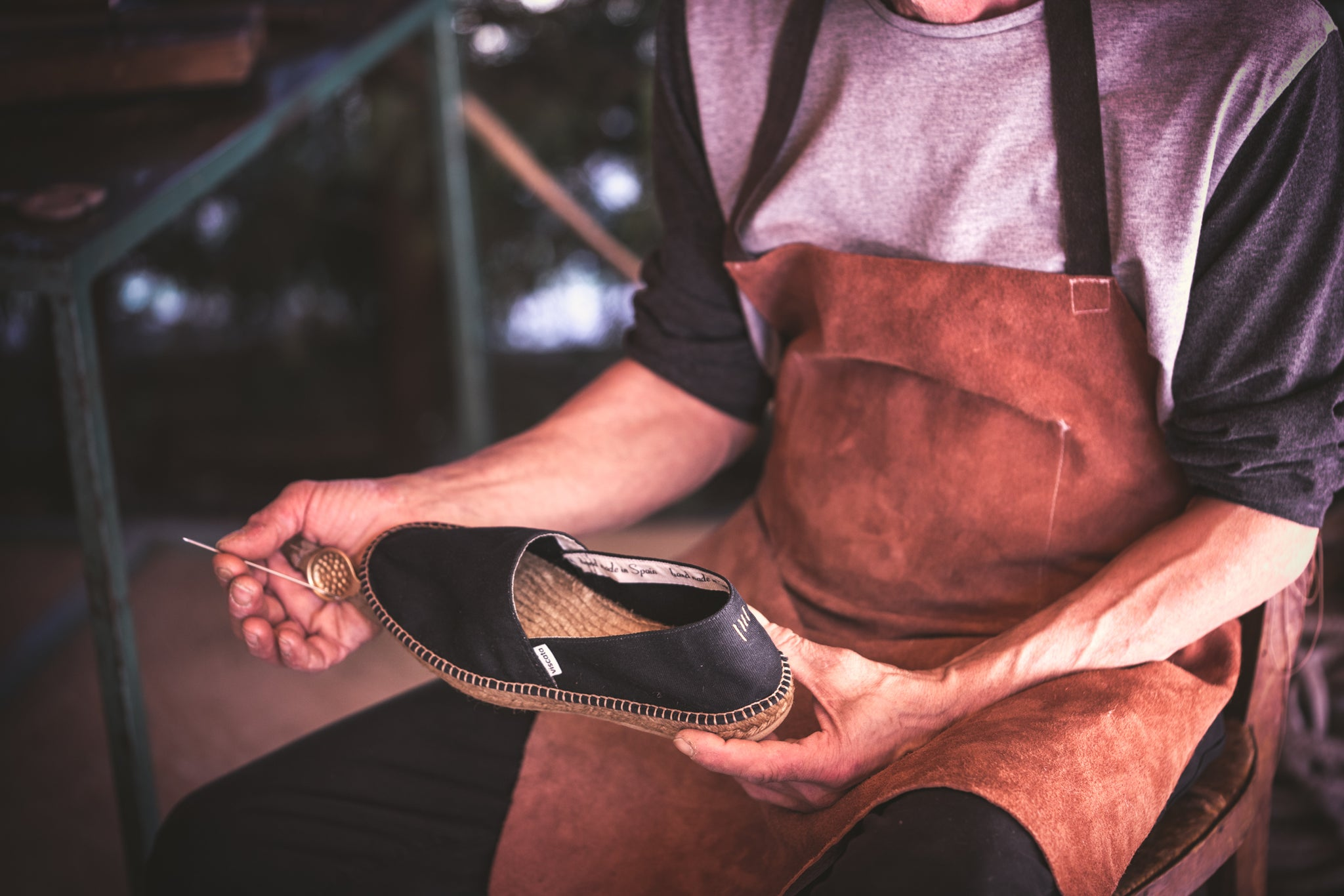 Eco-friendly shoes. Eco-friendly Handcrafting