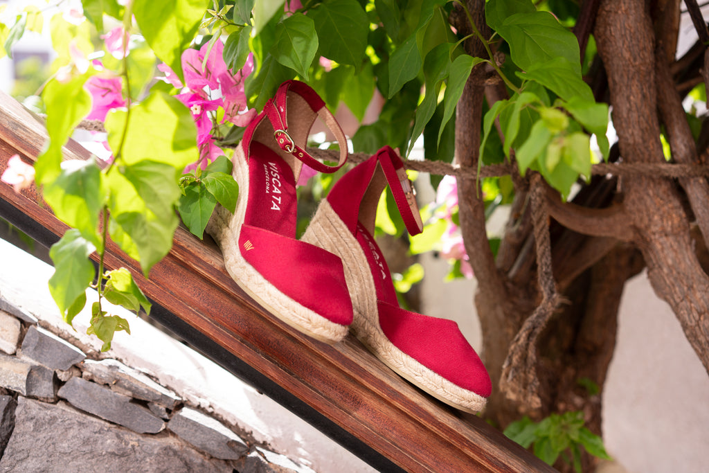 Estartit Canvas Cherry espadrilles