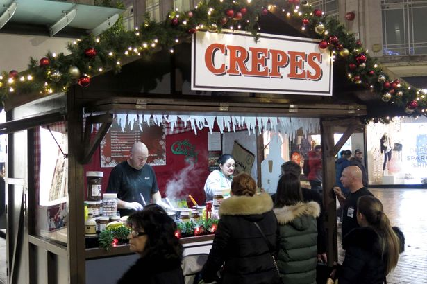 Christmas Market's Food Stall - Crepes