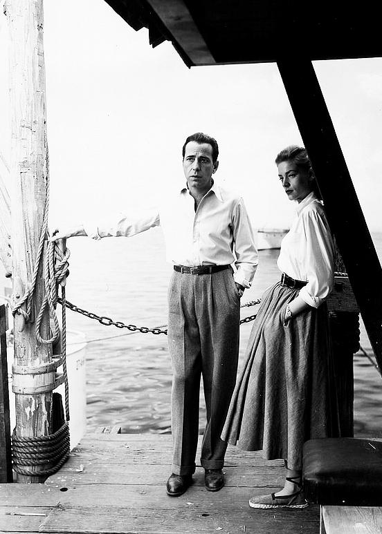 Lauren Bacall wearing espadrilles in Kay Largo