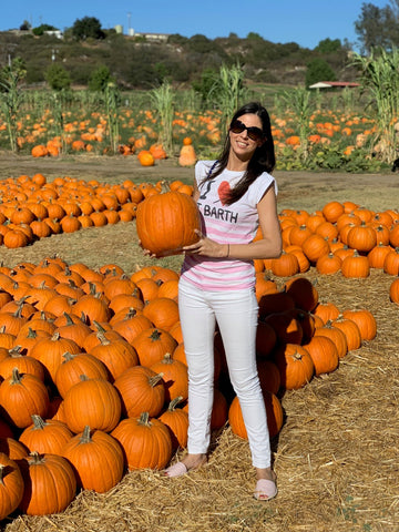 At the Pumpkin Patch in my Viscatas
