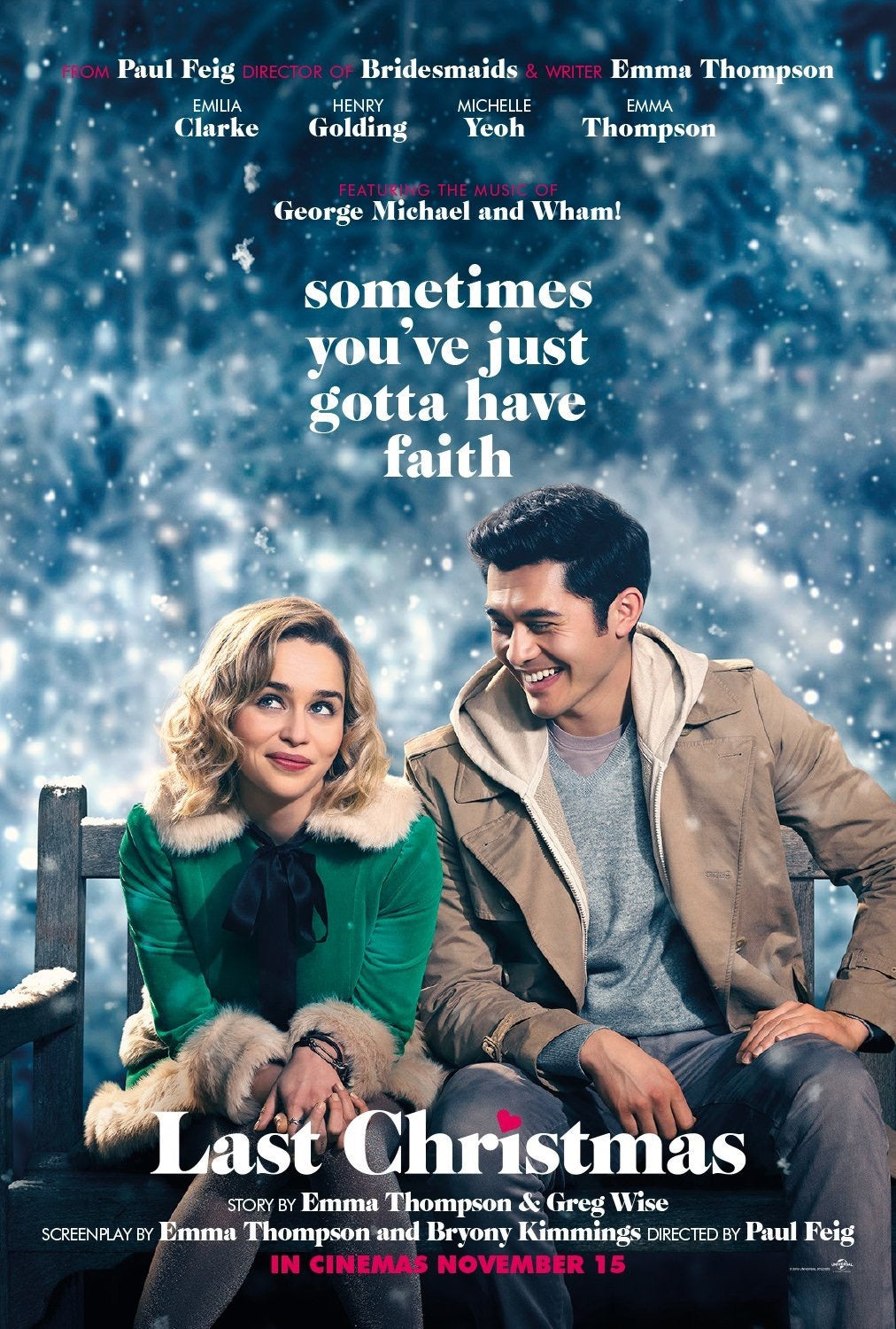 Last Christmas (2019) movie poster