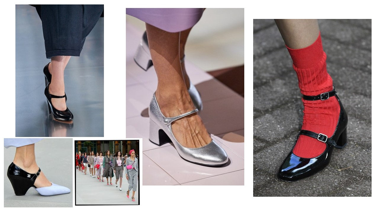SS20 Mary Jane shoe styles