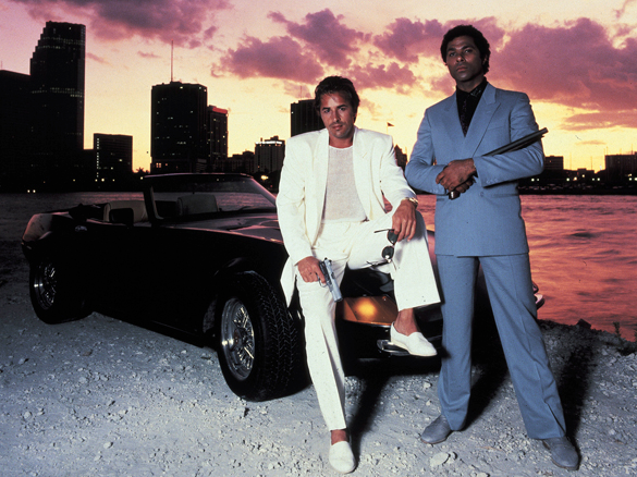 Miami Vice - Don Johnson -espadrilles