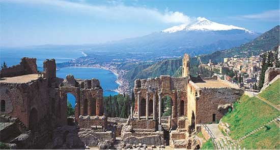 Taormina's Greek Theatre - Sicily