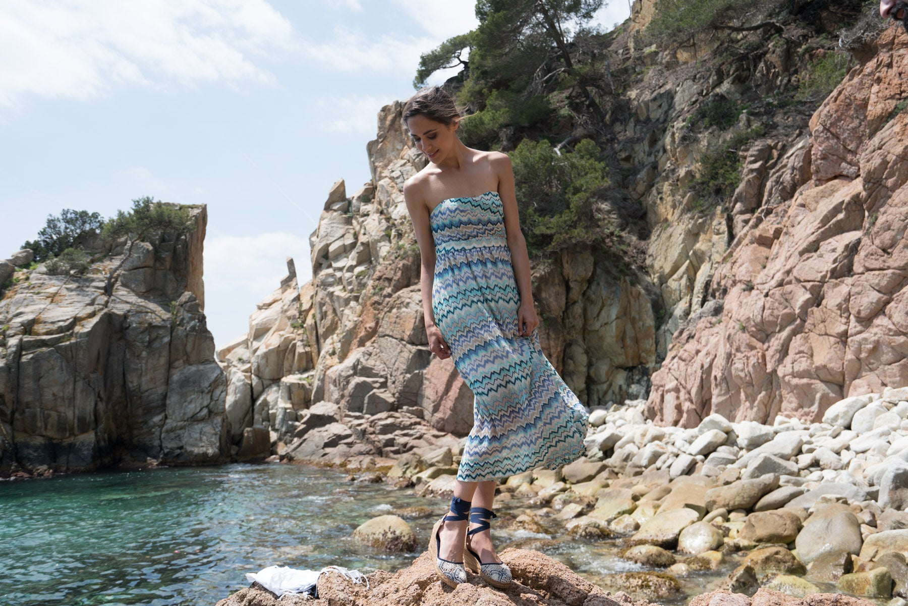 Viscata Espadrilles Made in Spain Wedges Lace-up